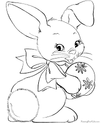 Easter Bunny Coloring Pages Easter Bunny Colouring Pages Bunny