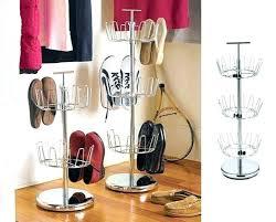 medium size of closetmaid shoe organizer white closet target 25 pair circular rack revolving for lazy