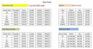 Asian Women S Size Chart Chinese Size Chart To Us Mens Www Bedowntowndaytona Com
