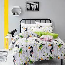drop pineapple bedding set sweet printed fruit bedsheet soft 100 cotton duvet cover set 3pcs