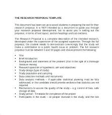 Term Paper Example Sample Research Proposal Template Lapos Co