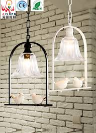 Simple Single Head Chandelier Bird Creative Personality Led Light