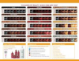 Henna Cream Color Chart Surya Brasil In 2019 Hair Dye