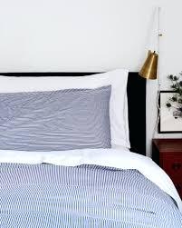 navy stripe duvet cover bedding damask full size