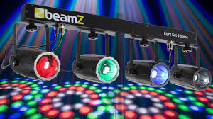 beamz 4 some colour led disco party moonflower light bar dj dmx lighting system you
