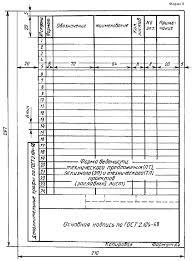 Задание на проектирование 4 2 4 2 Ведомость составляют в соответствии с ГОСТ 2 106 96 по форме приведенной на рисунках 4 2 и 4 3 Образец оформления ведомости дипломного проекта