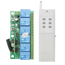 Fan And Light Remote Control Circuit 6 Channel High Power Wireless Rf Remote Control Switch Dv24vwireless Controller Buy Rf Transmitter Module Remote Switch For Light Fan Wifi Lighting