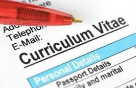 What does cv stand for? Curriculum Vitae