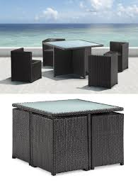 condo patio furniture. Nesting Furniture Is A New Design Feature That Turns Your Outdoor Furnishing Into Origami. Let Me Explain. The Idea Behind This Concept To Help Maximize Condo Patio R