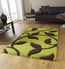 fashion rug 7647 green brown tap to expand