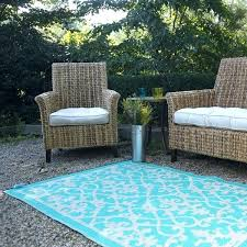 cream turquoise plastic outdoor rug patio indoor rugs and