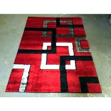black and white bathroom rugs red and black rugs red black white rug red black white