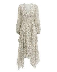 Pearl Primose Silk Dress Intermix