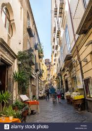 The Old Town of Sorrento referred to locally as the Drains which belies its  charms and quaintness Stock Photo - Alamy