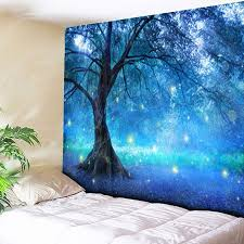 life tree forest pattern wall hanging tapestry