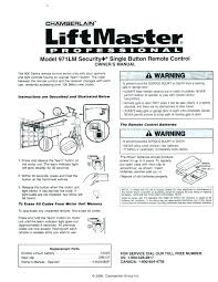 chamberlain liftmaster professional remote garage door opener manual wonderful openers photo 1 of 8 keypad remote