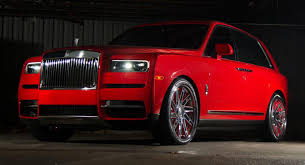 Some may find red fun and playful, while others feel it is too bold, exciting, or even dominating. Roses Are Red And So Is This Slightly Gauche Rolls Royce Cullinan Carscoops