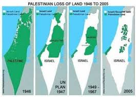 israel palestine conflict timeline map timeline creation and expansion of israel middle east