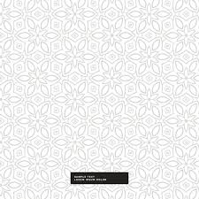 White Pattern Background