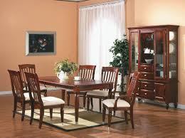 wood dining room double pedestal table set dining room cherry wood dining chairs