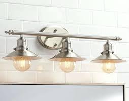 above mirror lighting bathrooms. Bathroom Lights Above Mirror Lighting Vanity Fixture Retro Brushed Nickle 3 Light Lamp . Bathrooms I