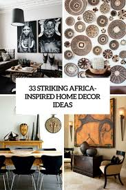 striking africa inspired home decor ideas cover