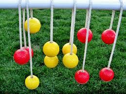 how to make ladder golf yard game