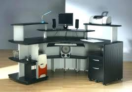 multi level computer desk full image for multi level computer desk ergonomic reception station workstation wood