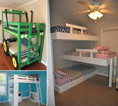 diy bunk bed slide loft ladder with stairs plans