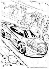 Small Picture Hot Wheels Coloring Pages free For Kids