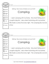 Ideas of Super Teacher Worksheets Editing On Letter - Grassmtnusa.com