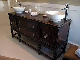 How To Repurpose Old Furniture In A Bathroom Vintage Bathroom Vanities Unique Bathroom Vanity Antique Bathroom Vanity