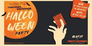 Halloween Business Cards Rivertown Exchange Halloween Party Visit Nyack