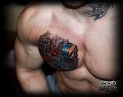татуировка штанга значение фото эскизы