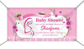 Custom Baby Shower Banners Baby Banners Circleone