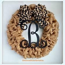 wreaths for front doorsBest Front Door Monogram Products on Wanelo