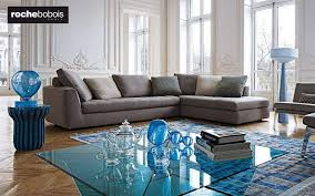 Roche bobois floor cushion seating Rectangular Floor Roche Bobois Corner Sofa Sofas Seats Sofas Decofinder Roche Bobois All Decoration Products