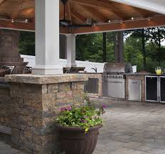 Outdoor Kitchen Refrigerator Outdoor Kitchen Designs Guide 15 Recommended Features Install