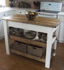 interior kitchen two tone butcher block rustic kitchen island with wooden top also white