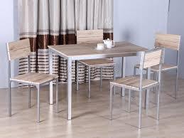 Ensemble Repas Table Et 4 Chaises Cuisine Pas Cher Nil