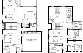 floor house plans in cute two story plan modern small double ranch 4 bedroom 3