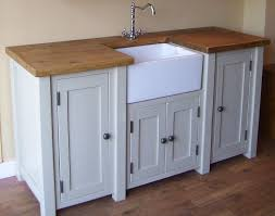 Shabby Chic Kitchen Furniture Shabby Chic Freestanding Belfast Butler Sink Unit Any Farrow