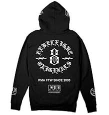 Rebel8 Size Chart Rebel8 16th Anniversary Pullover Hoodie At Amazon Mens