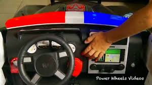 kid trax police dodge charger police car for kids unboxing clip fail