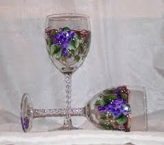 Wine Glass Decorating Designs The Glass Lady Unique Handpainted Glassware and Gifts 85