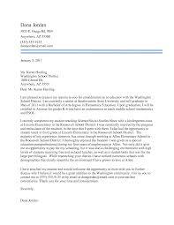 Bunch Ideas Of Sample Cover Letter For Elementary School Teacher