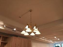 chandelier track lighting. Chandelier And Track Light Install Lighting N