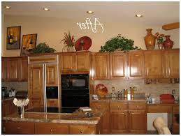 Decorating Above Kitchen Cabinets Best Ideas For Decorating Above Kitchen Cabinets For Christmas 55