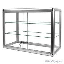 economy display case rectangular countertop