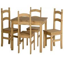flat pack furniture. Budget Mexican Dining Set In Distressed Waxed Pine Flat Pack Furniture
